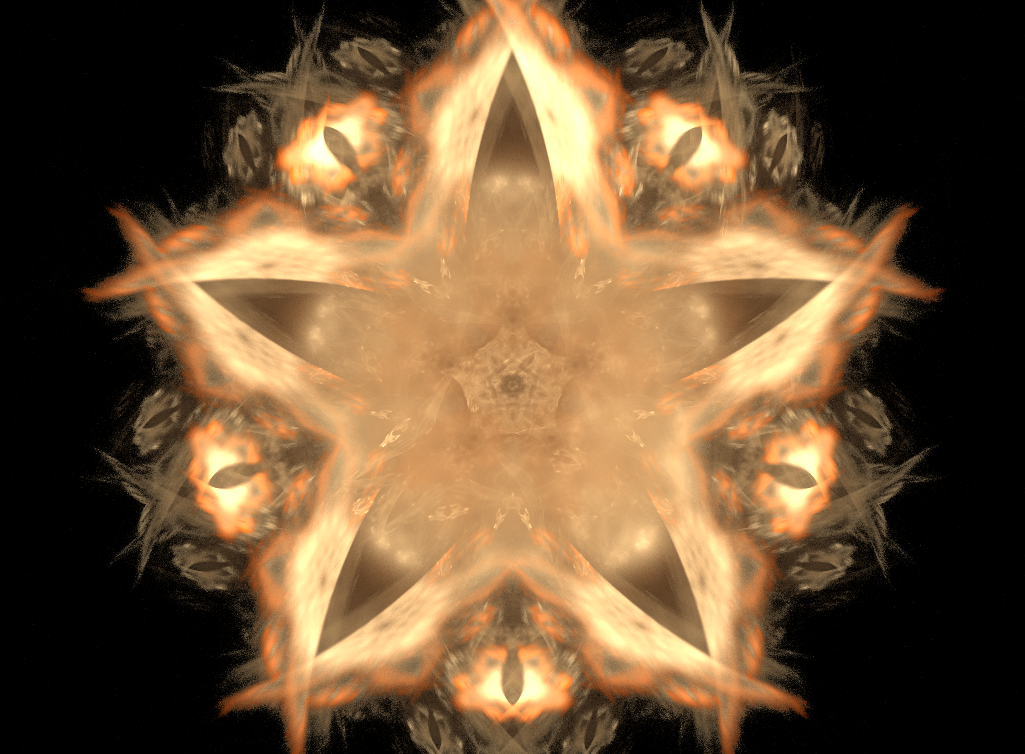 Abstract Orderism Fractal 40 - by Gennady Stolyarov II